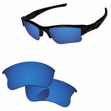 9fd0f0f10e PapaViva Deep Water Polarized Replacement Lenses For-Oakley Flak Jacket XLJ