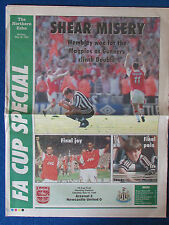 FA Cup Final 1998 - Arsenal v Newcastle United - The Northern Echo Souvenir