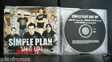 Simple Plan - Shut Up 3 Track CD Single