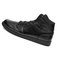 NIKE MENS Shoes Jordan 1 Mid - Black - OW-554724-090