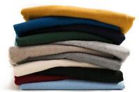 HOT Men's Crewneck Cashmere Sweater V-neck Pullovers Knitted Sweater Turtleneck