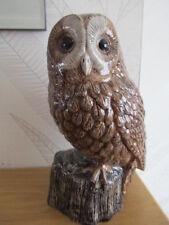 Fabulous Large Tawny Owl Flower Vase By Quail Ceramics Boxed Ideal Gift