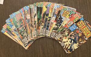 Sgt Rock Comics - 319-349 Lot Of 31! Low To Mid Grade