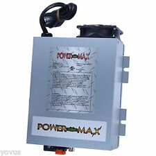 75 AMP PowerMax 220 VOLT AC to 12v DC power supply converter battery charger