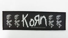 Korn Life is peachy 1997 superstrip vintage RARE sew on patch music