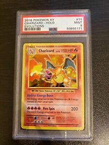 2016 Pokemon XY Evolutions 11/108 Charizard Holo PSA 9 Mint
