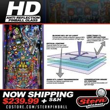 Stern Pinball Hd High-definition Pinball Glass 502-6845-00