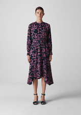 Whistles - £179 - Papillion Print Shirt Dress - Multi - New With Tag - Size - 16