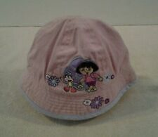"Girls infant Nick Jr ""DORA & BOOTS"" bucket style hat one size - NICE"