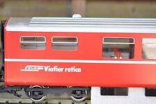 LGB 3068 RHB Schnellzug (169) sehr gut bis neuwertig & 4 Metallachen 2 Minikratz