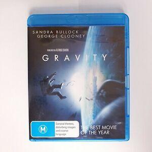 Gravity Bluray Movie - Free Postage Blu-ray - Action Drama Space