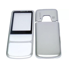 Full Body Housing for Nokia 6700 classic - Silver with Keypad Keyboard
