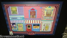 Disney Box Pin Set Trade City USA Business Disrict