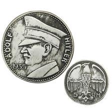 1935 Antique Vintage WW2 WWII German  Nazi Germany War Swastika Coin