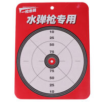 Discoloration Darting Target Kids Toys water bullet Dart Board Kids gun GaGJ