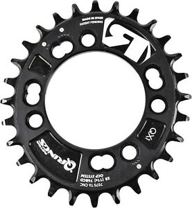 ROTOR QRINGS OVAL CHAINRINGS - QX1 / BCD76x4 / 32, 34 & 36T