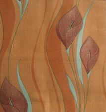 5Metres Brundall Curtain Fabric - Home Interior Fabric - Terracotta | £15 /M