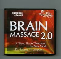 Brain Masage 2.0: by Dr. Jeffrey Thompson - 11CDs includes workbook CD