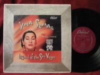 "YMA SUMAC Legend Of The Sun Virgin 10"" Vinyl LP Record Album exotica latin"