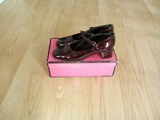 Nouvelle annonce Chaussures Femme pointure 38 d occasion vernis bordeaux