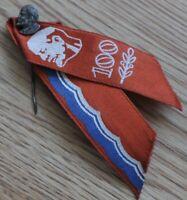 Communist Lenin 100 y. Vintage USSR Soviet Union Heavy Metal Pin Badge