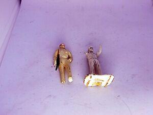 Slot Car Figure Lot Vintage Strombecker 1/32