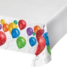 Balloon Blast Birthday Party Table cover Tablecloth 54 x 102 Border Print