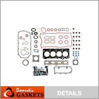 Fits 02-06 Jeep Liberty Wrangler TJ 2.4L DOHC Full Gasket Set VIN 1