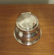 Vintage Asprey and Co silver inkwell 1924