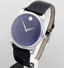 Movado Men's Museum Collection  Blue Museum Dial Sapphire Crystal Watch