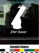 DOBSONIAN TELESCOPE STARGAZER VINYL DECAL/STICKER