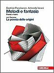 Metodi e Fantasia, poesia teatro, zanichelli editore, PANEBIANCO 9788808223869