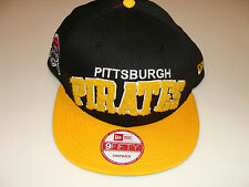 2012 New Era Pittsburgh Pirates MLB Baseball Snapback Cap Hat 3D Applique Magic