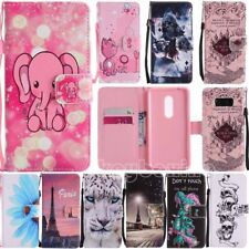 Pattern Wallet Stand Flip Leather Cover Phone Case For ZTE Axon 7 /Zmax Pro Z981