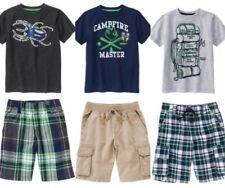 Gymboree Backyard Explorer 4 5 6 7 Set Outfit Bug Campfire Backpack Shirt Shorts