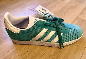 Adidas Gazelle 42 1/3 - Daim Turquoise - NEUF