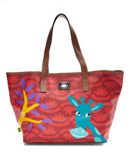 Red Giraffe Critter Large Tote NWT MSRP $79
