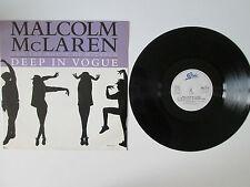 Malcom Mc laren & The House of McLaren - Deep in Vouge-12in Single