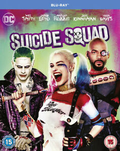 Suicide Squad Blu-Ray (2016) Will Smith, Ayer (DIR) cert 15 2 discs Great Value