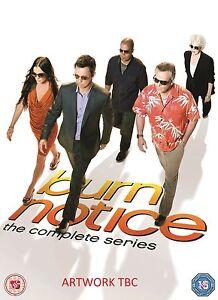 "Burn Notice The Complete Series Season 1, 2, 3, 4, 5, 6 & 7 DVD Box Set ""on sale"