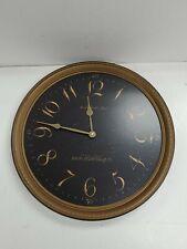 Howard Miller Paris Night Moment In Time Pendulum Wall Clock
