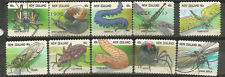 New Zealand Scott# 1459-1468 Used Insects
