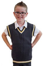 School Curriculum-Historical-Wartime-WW2 KIDS 1940'S KNITTED TANK TOP 2 colours