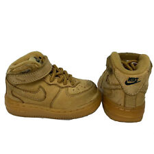 Nike Air Force 1 Mid LV8 Baby Wheat Color Size 5c AF1 Beige