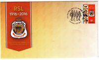 """2016 FDC. Australia. RSL Centenary. Service Personnel PictFDI """"CAMPBELL"""""""