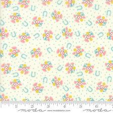 MODA Fabric ~ HOWDY ~ Stacy Iest Hsu (20554 11) Porcelain - by the 1/2 yard