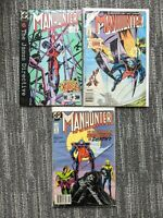 Manhunter #10-11,14 **THREE ISSUE LOT** (DC 1988) Copper Age - 1st Series