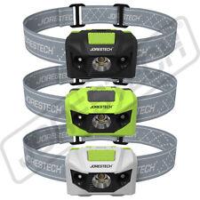 Headlamp Flashlight Head Band LED Light Water Outdoor Headlight Jorestech