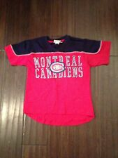 Montreal Canadiens NEW Youth Large Neutral Zone T-Shirt . NHL Hockey Reebok NWT