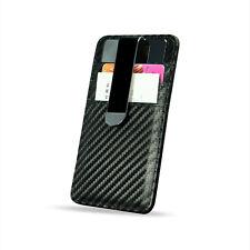 Nice Design Top Quality Metal Clip With Carbon Fiber Pattern Credit Card Holder